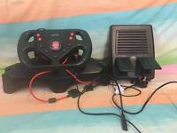 Playstation2 racing wheel