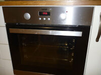Neve fan oven, hob and extractor