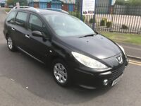 PEUGEOT 307 SW 1.6 2006 55 PLATE 5 seater ESTATE FULL SERVICES HISTORY