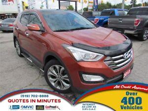 2013 Hyundai Santa Fe Sport LIMITED | AWD | TURBO | LEATHER | BA