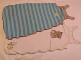 2x 6-18month baby sleeping bags