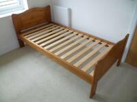 Pair of JOHN LEWIS Pine Single Bed Frames - 1 BNWT