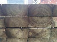 🏅Mini Pressure Treated Timber Railway Sleepers