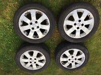 Genuine Vauxhall Corsa SXI Alloy Wheels