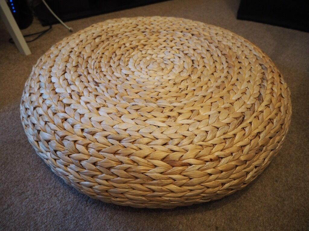Ikea Alseda Rattan Living Room Wicker Seat Stool