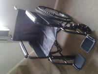 Lightweight Folding Self Propelling Wheelchair