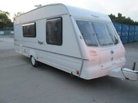 BAILEY PAGEANT MOSELLE 4BERTH TOURING CARAVAN LIGHTWEIGHT EASY TO TOW AND READY TO GO!GOOD CONDITION