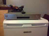 Sony DvD Player + Sony Control ] Silver Metal } {{{{{{{{ Text Or Email Only }}}}}}}}}}