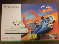New xbox one s Forza Horizon 3 console warranty delivery