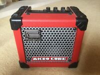 Roland Micro Cube Guitar Amplifier (Red)