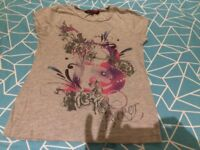 Girls 9-10yr Ted Baker T-shirt, great condition from pet and smoke free home
