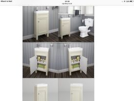 New cloakroom vanity unit for sale