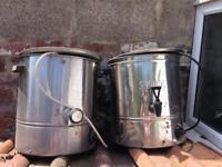 Burco & Cygnet boilers 20ltr Homebrew - Catering.