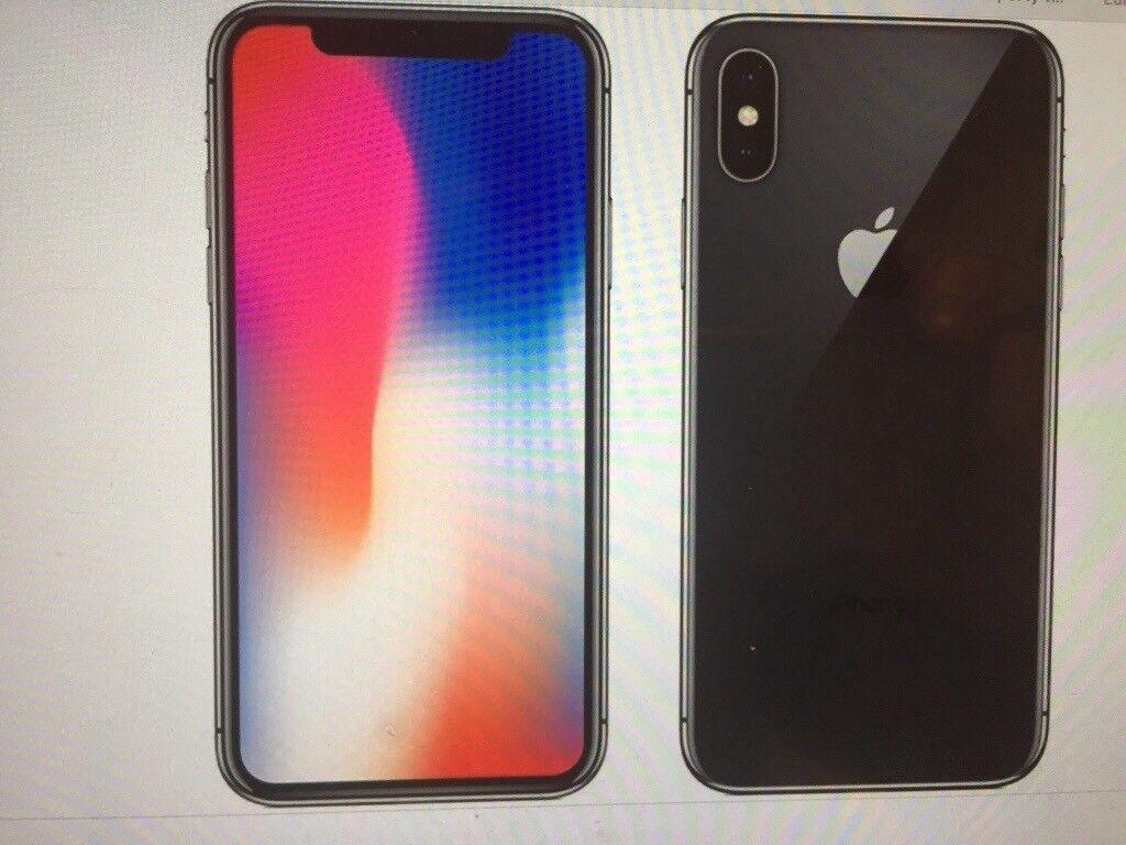 I Phone X 256gb space grey unlocked PR9 £1400 sealed unlocked