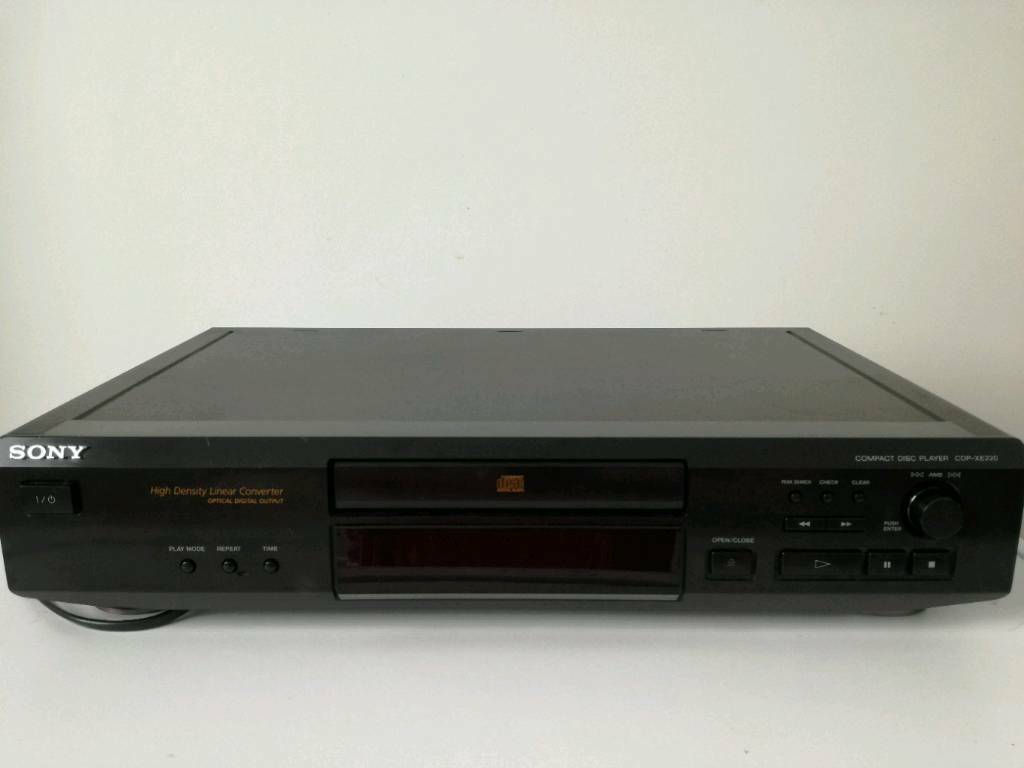 Sony Compact Disc Player Model No CDP-XE220 Perfect working order