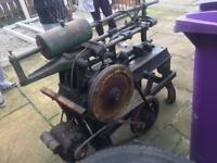 Rare vintage mechanical saw