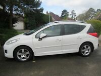 Peugeot 207 AllureSW 2012 Very Good condition just serviced and long MOT
