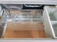 Ex display Hotpoint Integrated fridge drawers.