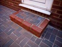 Paving driveway concrete brick garden