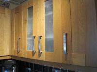 B & Q Solid Oak Kitchen Cabinets Doors & Drawers