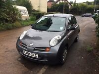 Nissan micra 2004 reg ideal 1st car car with long mot ,px welcome 1st to view will buy