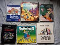 2D Animation books