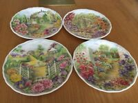 Set of Royal Albert Plates