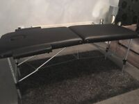 Portable lightweight massage table/bed