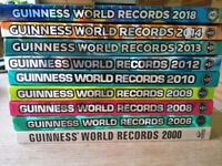 9 GUINNESS WORLD RECORD BOOKS!
