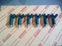 Lexus is200 toyota 1zz injectors set of 6 ideal for supercharge
