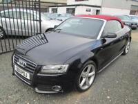Audi A5 2.0T FSI S LINE 2dr [Start Stop] + BLACK HEATED LEATHER + RED ROOF + FULL SE... (black) 2011