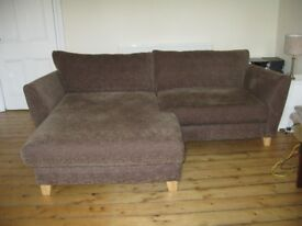 Fabric sofa - excellent condition