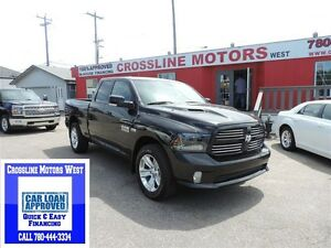 2015 Ram 1500 SPORT LOADED LEATHER,NAVI, LOW KM