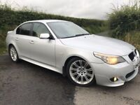 2006 BMW 535D M-SPORT 272 BHP AUTO CAR IN MINT CONDITION FINANCE AVAILABLE 12 MTS MOT MAY PART EX