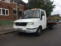 Recovery truck LDV 400 Convoy 80BHP flat bed ready for work long mot bargain