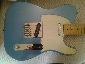 FENDER SQUIER TELECASTER, 1989 RARE, IN GREAT CONDITION.
