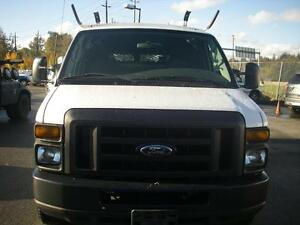 2008 Ford Econoline E-150 Cargo Van With Roof Rack
