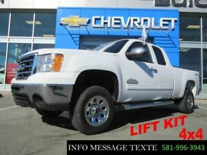 2013 GMC SIERRA 1500 4WD EXTENDED CAB LIFT KIT, 4x4