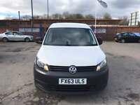 2013 Volkswagen Vw caddy 1.6 tdi 50k fsh nice extras excellent condition van 100% no vat