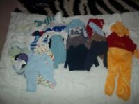 Bundle of Baby clothes 3months to a year