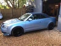 Audi A4 convertible diesel tdi low miles 1 previous owner new mot new battery new tyres