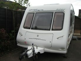 2004 compass rallye 542l 4 berth with motor mover