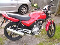 Yamaha YBR 125cc 2007