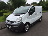 NO VAT 2005 vauxhall vivaro 1.9 clean in and out NEW MOT good condition