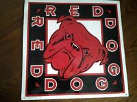 RED DOG TIN BEER SIGN