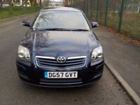 2007 Toyota Avensis, 2.0 litre Diesel, HPI Clear, Full Service History, 1 Former Keeper