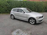 Bmw 1 series 2008 with full years MOT 6 speed gear box ES edition