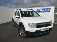 Dacia Duster 1.5 dCi 110 Laureate 5dr (white) 2013