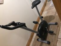 Exercise bike! Resistance setting, calorie counter and timer.