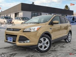 2015 Ford Escape SE,REARVIEW CAM,PWR T/GATE,HEATED SEATS,B.TOOTH